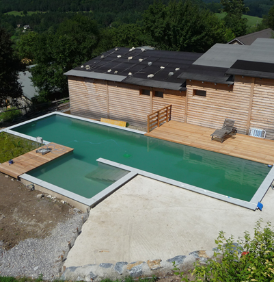 schwimmteich heizung schwimmbad und saunen. Black Bedroom Furniture Sets. Home Design Ideas